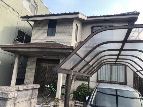 大阪市 T様邸塗装工事着工
